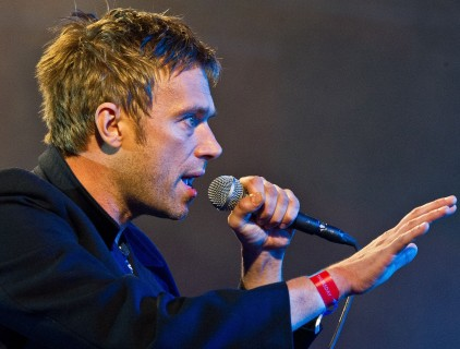 Damon Albarn - 2010 - by Bill Ebbesen