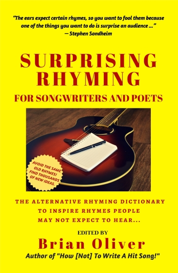 SURPRISING RHYMING – AN ALTERNATIVE RHYMING DICTIONARY FOR SONGWRITERS AND POETS